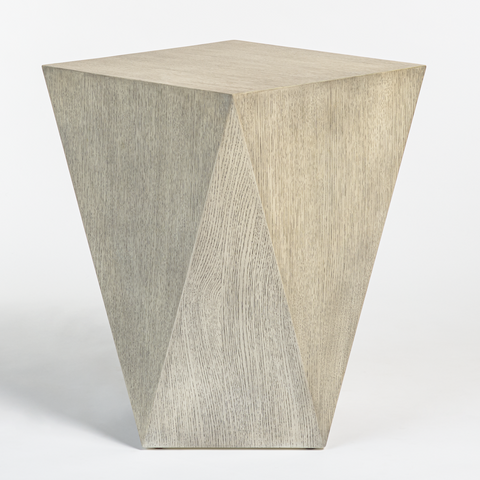 Gavin Accent Table in Brushed Smoke