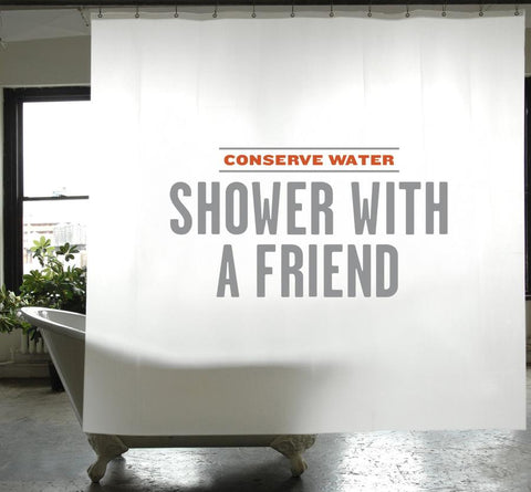 Conservation Shower Curtain