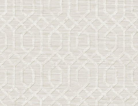 Giant's Causeway Wallpaper in Cream from the Sanctuary Collection by Mayflower Wallpaper