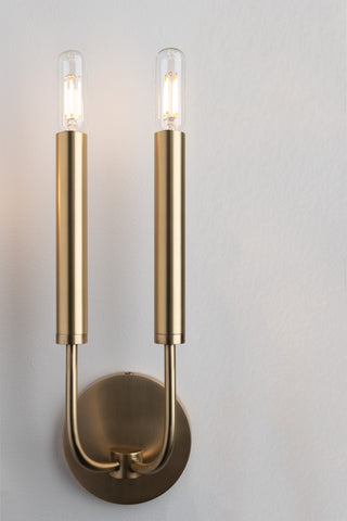 Gideon 2 Light Wall Sconce by Hudson Valley Lighting