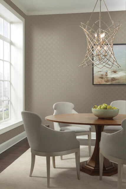 Gilded Wallpaper from the Moderne Collection by Stacy Garcia for York Wallcoverings
