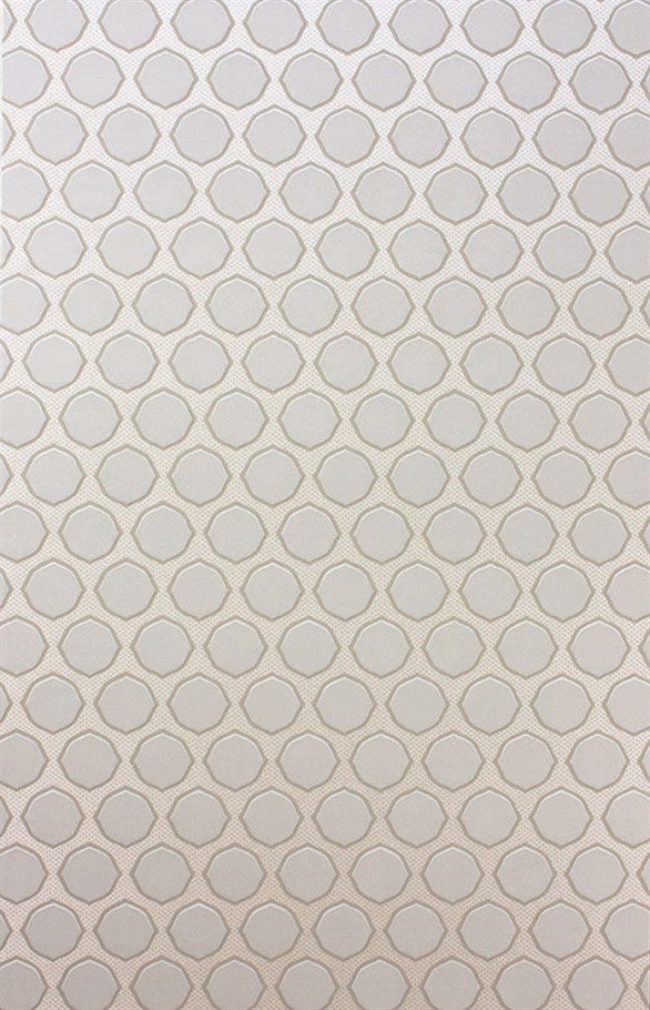 Gioconda Wallpaper in Ivory by Nina Campbell for Osborne & Little