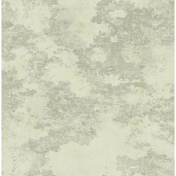 Glisten Texture Wallpaper in Soft Grey and Neutrals by Seabrook Wallcoverings