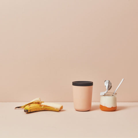 Go 12 oz Bamboo Reusable Coffee Cup in Various Colors design by EKOBO