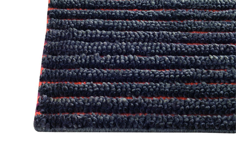 Goa Collection New Zealand Wool Area Rug in Grey design by Mat the Basics