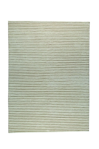 Goa Collection New Zealand Wool Area Rug in White design by Mat the Basics