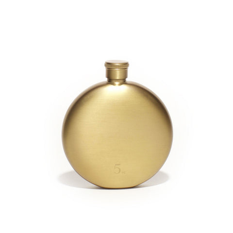 Gold 5oz. Flask