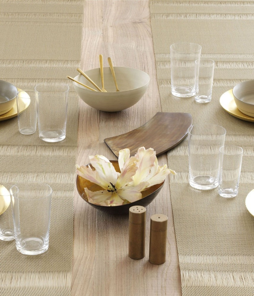 Tuxedo Stripe Table Runner in Multiple Colors design by Chilewich