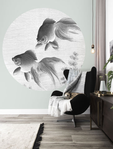 Goldfish 005 Wallpaper Circle by KEK Amsterdam