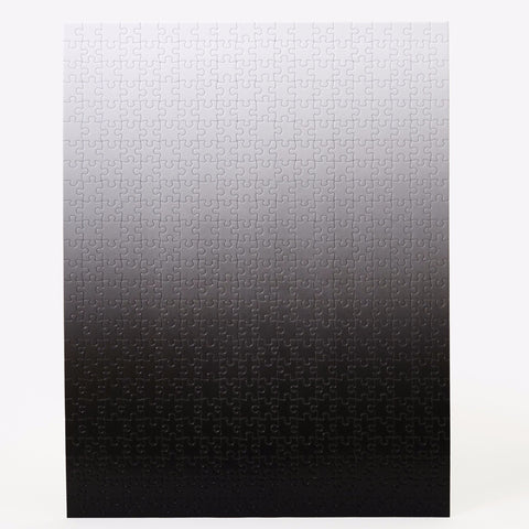 Gradient Puzzle in Black & White design by Areaware