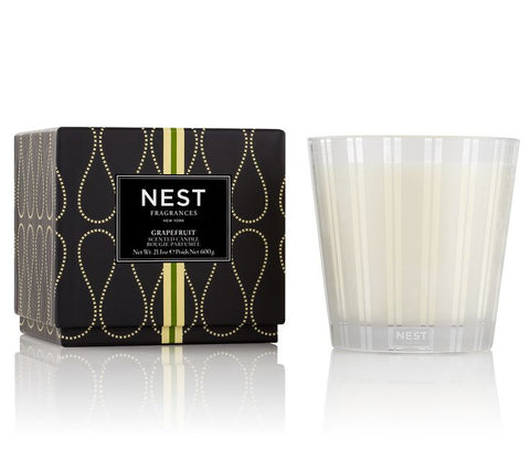 Grapefruit 3-Wick Candle design by Nest