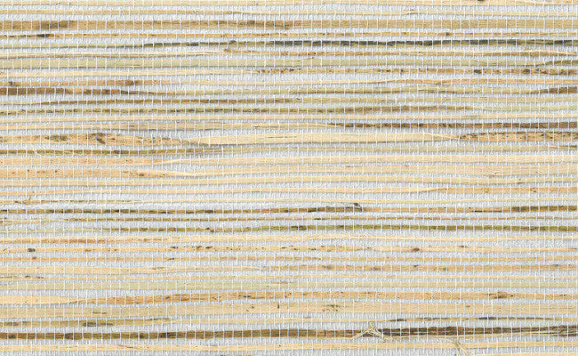 Sample Grasscloth Wallpaper in Metallic and Browns design by Seabrook Wallcoverings