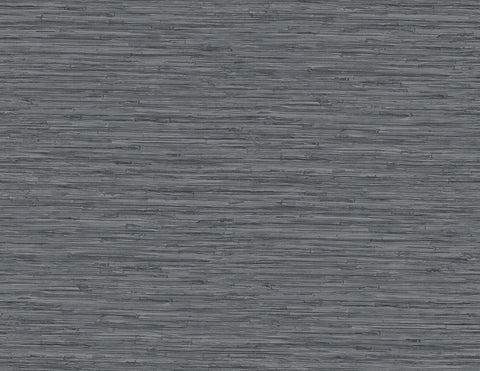 Grasscloth Wallpaper in Onyx from the Sanctuary Collection by Mayflower Wallpaper