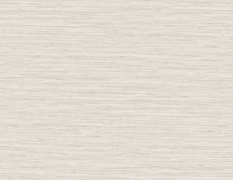 Grasscloth Wallpaper in Taupe from the Sanctuary Collection by Mayflower Wallpaper