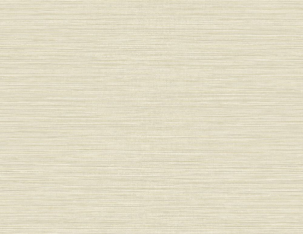 Sample Grasslands Wallpaper in Alabaster from the Texture Gallery Collection by Seabrook Wallcoverings