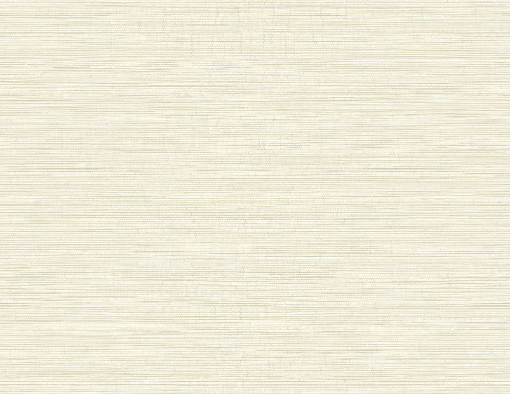 Sample Grasslands Wallpaper in Pearl from the Texture Gallery Collection by Seabrook Wallcoverings