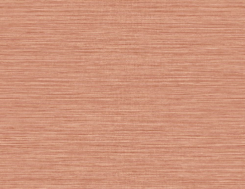 Grasslands Wallpaper in Salmon from the Texture Gallery Collection by Seabrook Wallcoverings