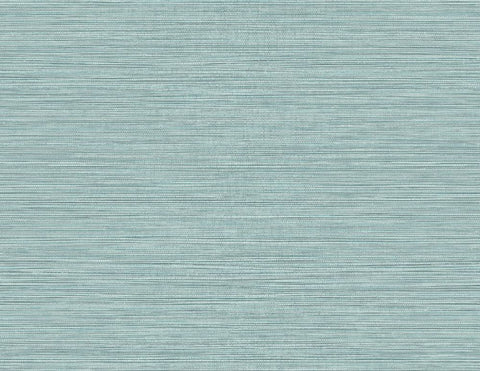 Grasslands Wallpaper in Serenity Blue from the Texture Gallery Collection by Seabrook Wallcoverings
