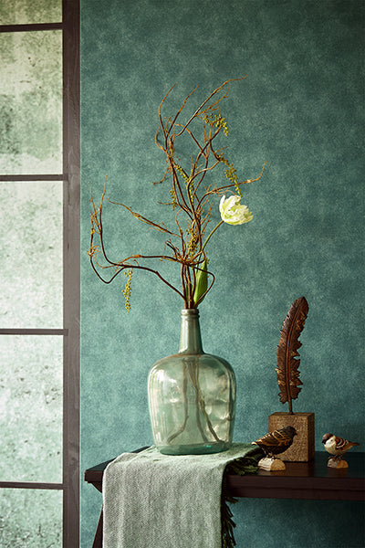 Green Weathered Wall Mural by Eijffinger for Brewster Home Fashions