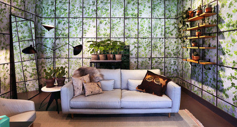 Greenhouse Wallpaper design by Erik Gutter for NLXL