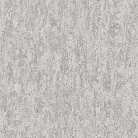 Sample Grey Weathered Metallic Wallpaper by Walls Republic