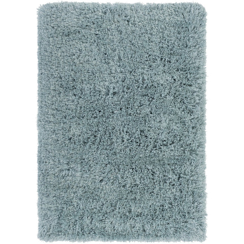 Grizzly Grizzly-12 Hand Woven Rug in Aqua by Surya