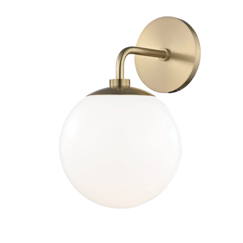 Stella 1 Light Wall Sconce by Mitzi