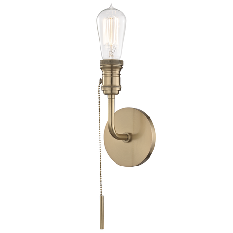 Lexi 1 Light Wall Sconce by Mitzi