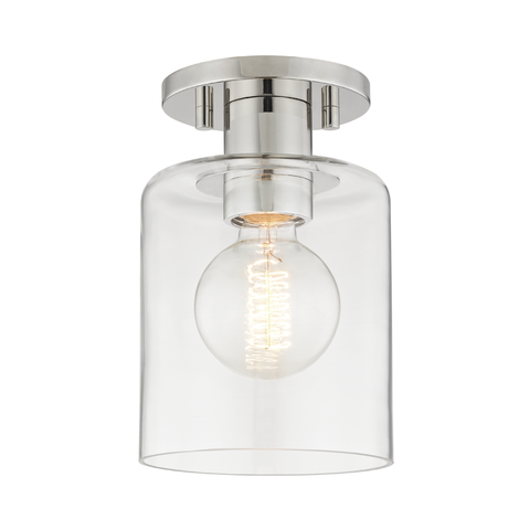 Neko 1 Light Semi Flush by Mitzi
