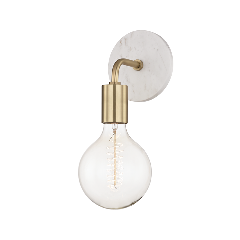 "Chloe 1 Light Wall Sconce ""A"" Style by Mitzi"