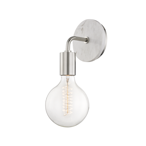 "Chloe 1 Light Wall Sconce ""A"" Style"