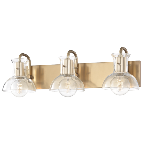 Riley 3 Light Bath Bracket by Mitzi