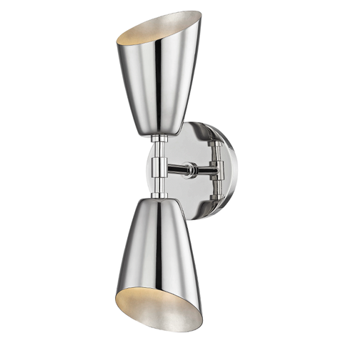 Kai 2 Light Wall Sconce by Mitzi