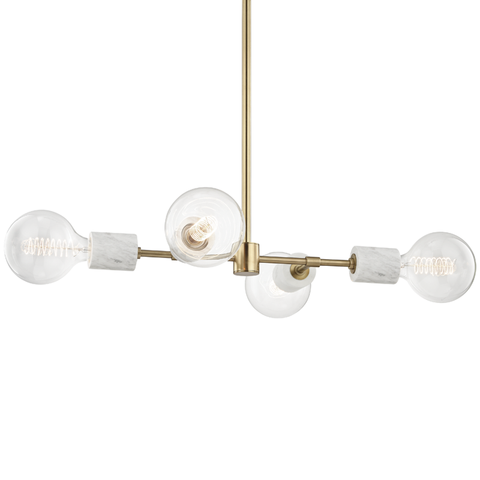 Asime 4 Light Pendant by Mitzi