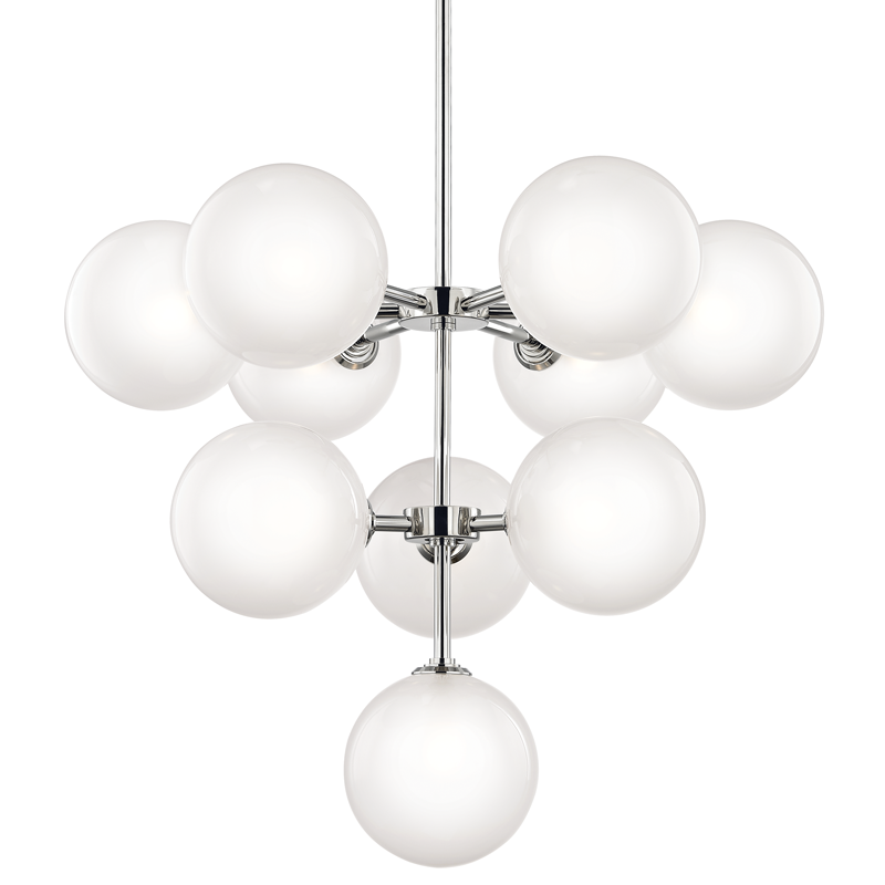 Ashleigh 10 Light Chandelier by Mitzi