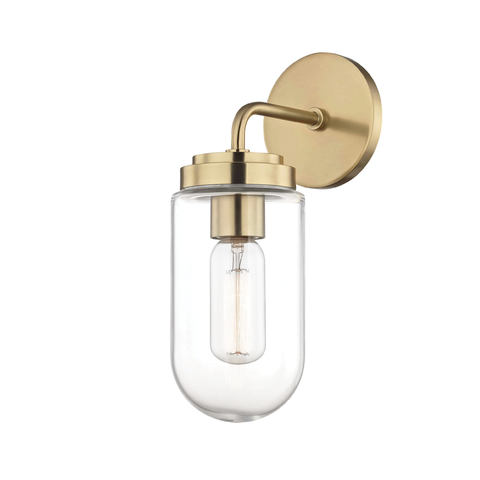 Clara 1 Light Wall Sconce by Mitzi
