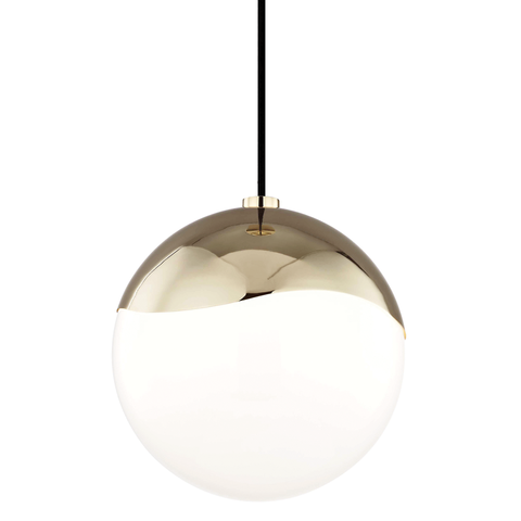 Ella 1 Light Large Pendant by Mitzi