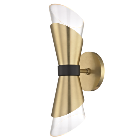 Angie 2 Light Wall Sconce by Mitzi