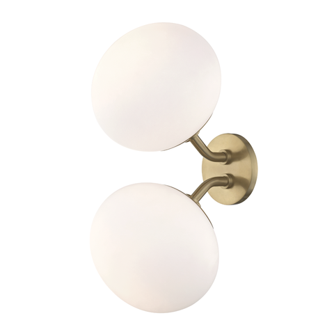 Estee 2 Light Wall Sconce by Mitzi