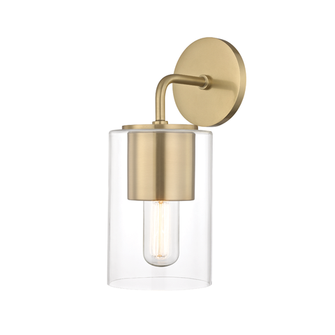 Lula 1 Light Wall Sconce by Mitzi