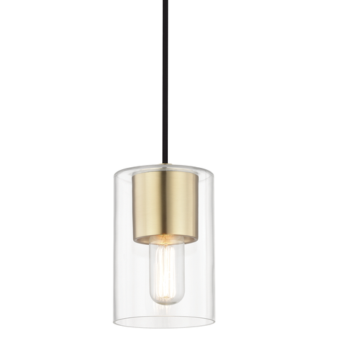 Lula 1 Light Pendant by Mitzi