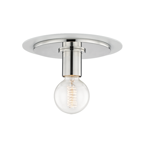 Milo 1 Light Small Flush Mount by Mitzi