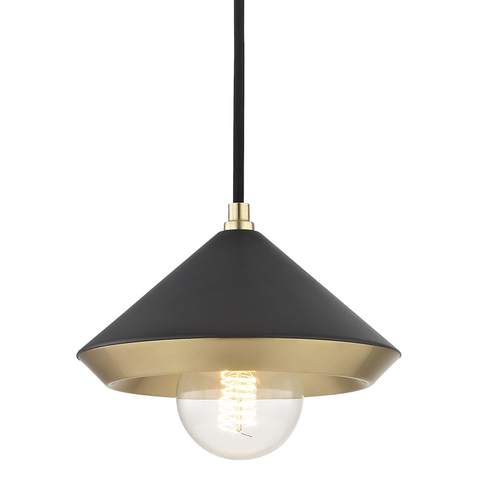 Marnie 1 Light Small Pendant by Mitzi