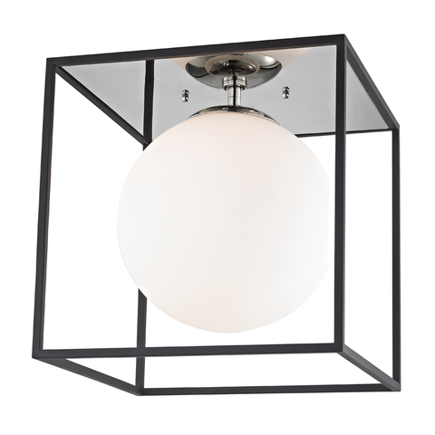 Aira 1 Light Flush Mount by Mitzi