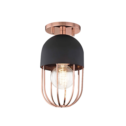 Haley 1 Light Flush Mount by Mitzi