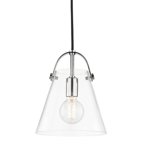 Karin 1 Light Small Pendant by Mitzi