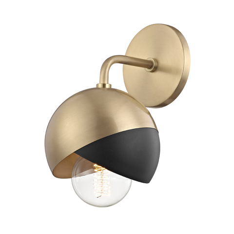 Emma 1 Light Wall Sconce by Mitzi