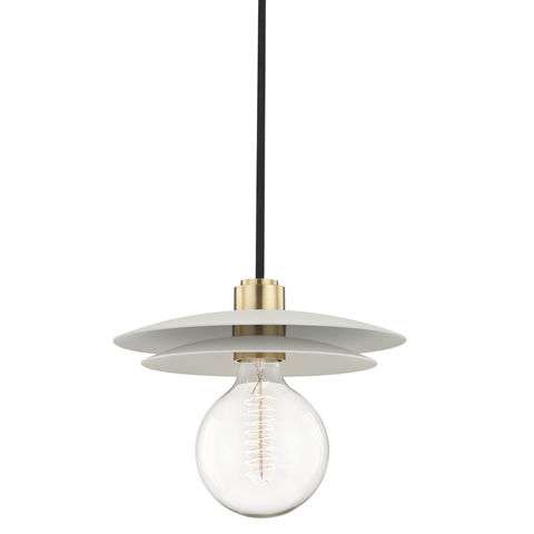 Milla 1 Light Large Pendant by Mitzi