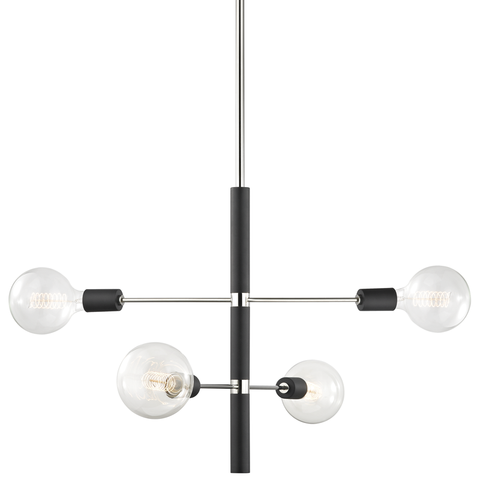 Astrid 4 Light Chandelier by Mitzi