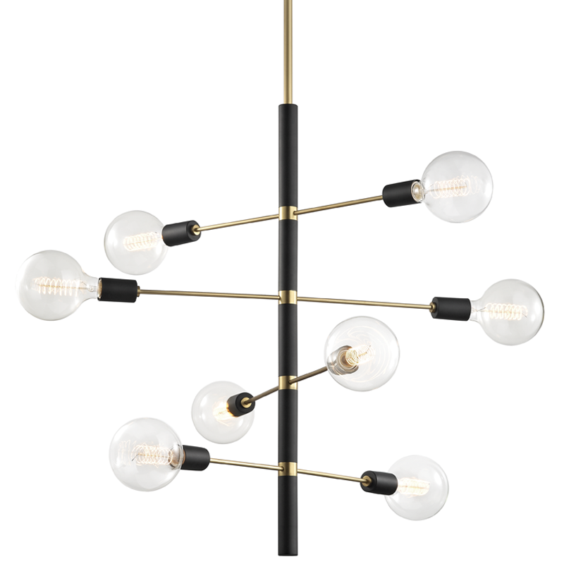 Astrid 8 Light Chandelier by Mitzi